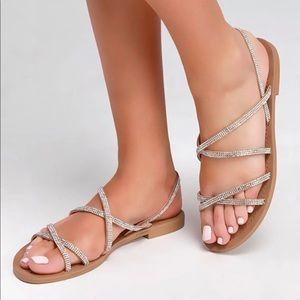 Steve Madden Rita Embellished Sandals